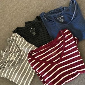 4 Soft and Sexy AEO t-shirts